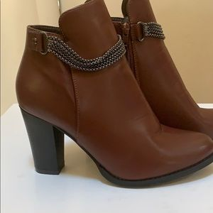 2 for $20 Olivia Miller Brown Booties